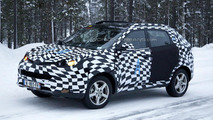 MG CS crossover spied winter testing in Scandinavia