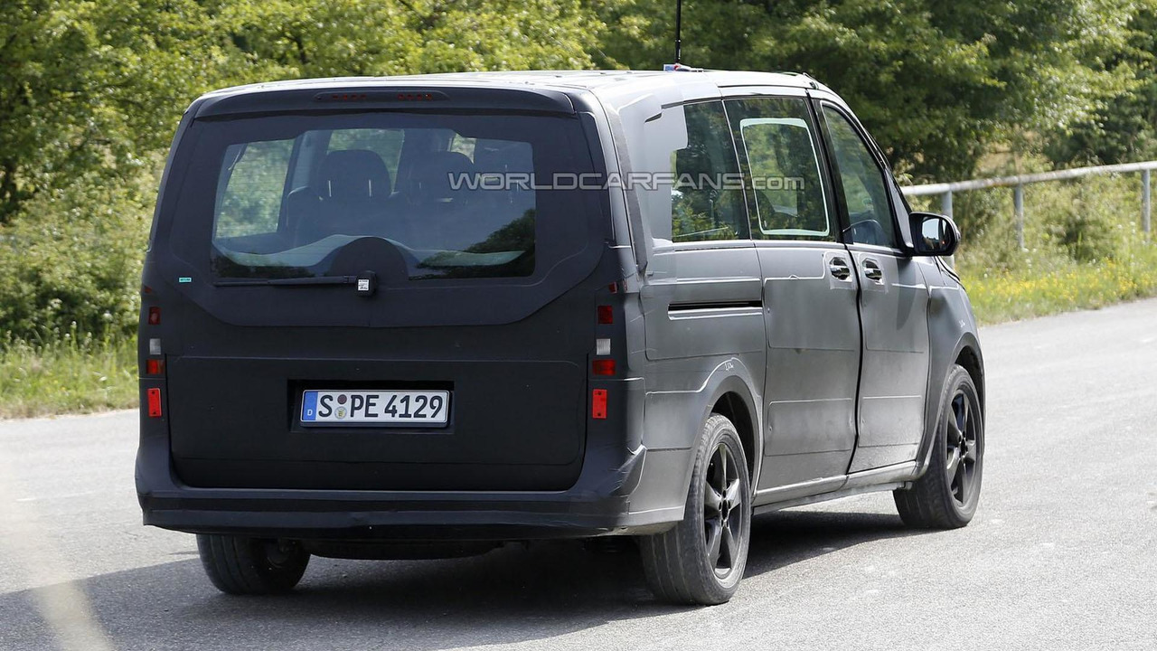 mercedes vito v class could be headed to the u s report. Black Bedroom Furniture Sets. Home Design Ideas