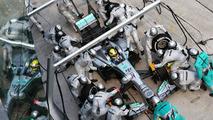 Nico Rosberg pit stop 24.03.2013 Malaysian Grand Prix