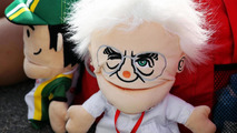 Bernie Ecclestone glove puppet on a merchandise stand 12.10.2013 Japanese Grand Prix