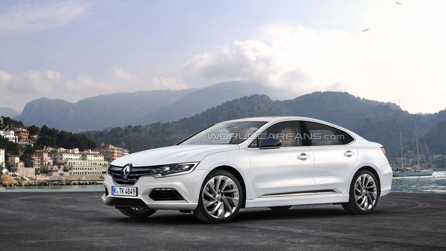 2016 Renault Laguna speculatively rendered