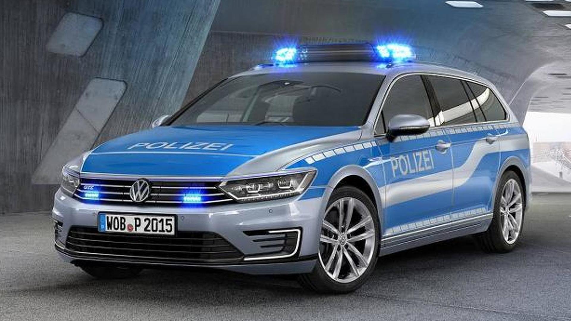 Полицейский Volkswagen Passat GTE