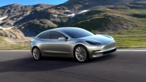 Tesla Model 3, trazione posteriore e 75 kWh per cominciare