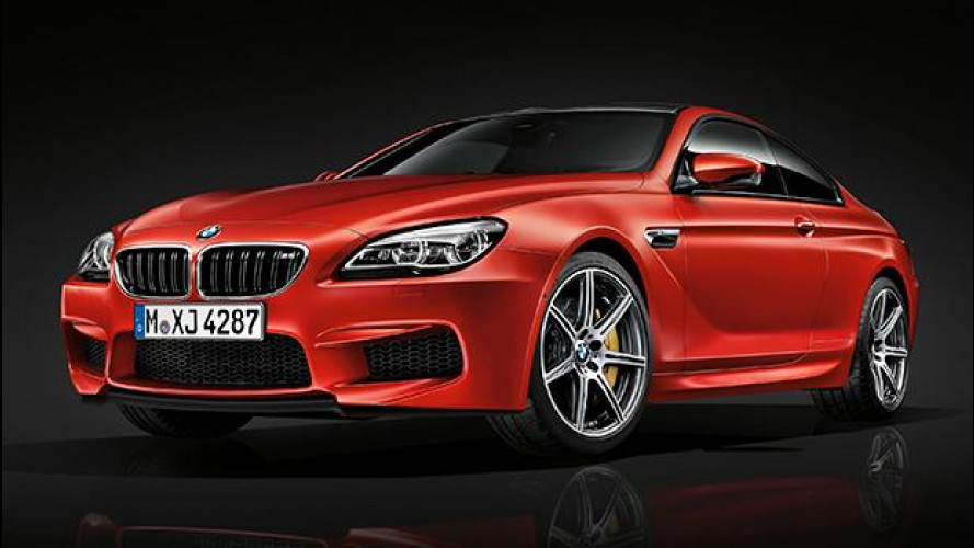 BMW M6, 600 CV col pacchetto Competition