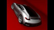 Emil Baddal immagina la supercar Porsche