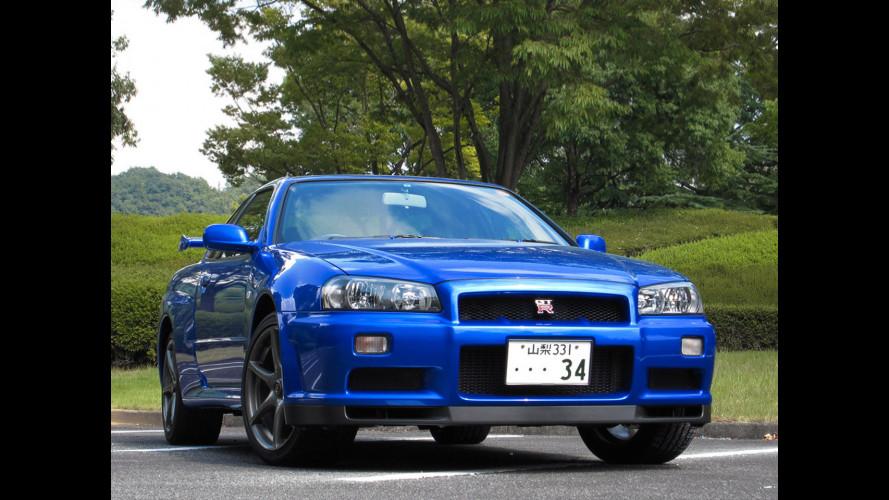 Nissan Skyline GT-R, dove nasce Godzilla