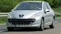 Undisguised Peugeot 207 RC Spy Photos