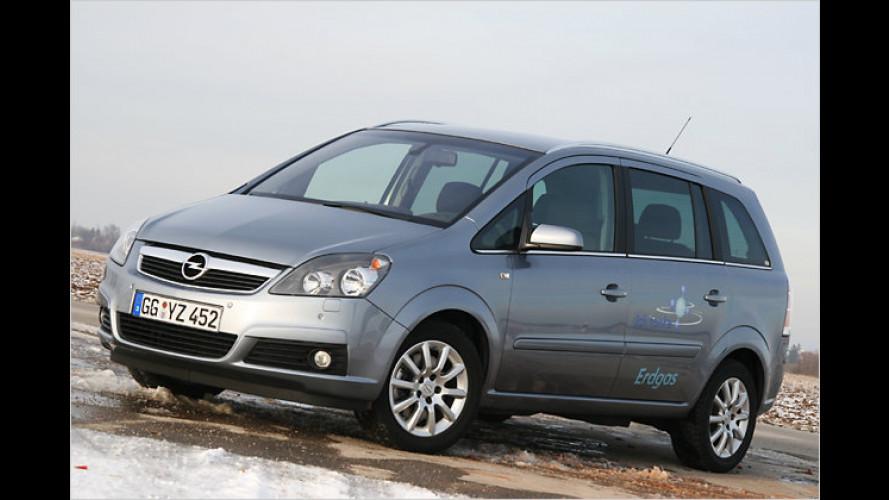 Test: Opel Zafira CNG