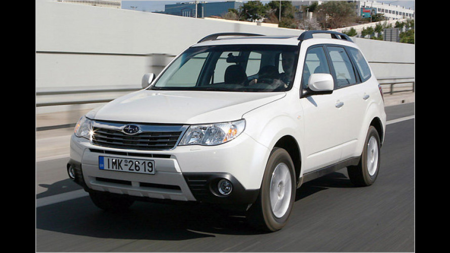 Limitierte Topmotorisierung: Der Subaru Forester 2.5X