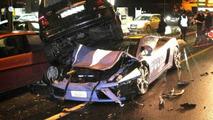 Lamborghini Gallardo Police Vehicle is written off