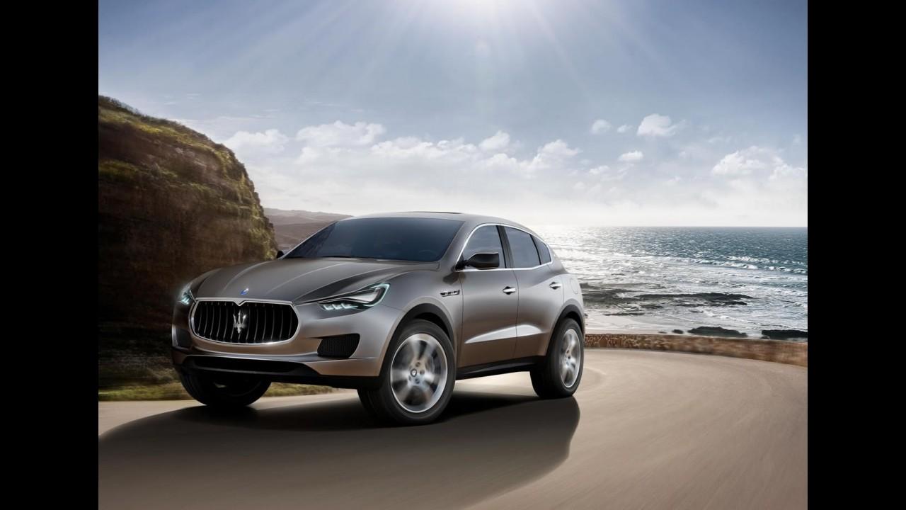 Maserati Kubang será produzido em Detroit a partir de 2013