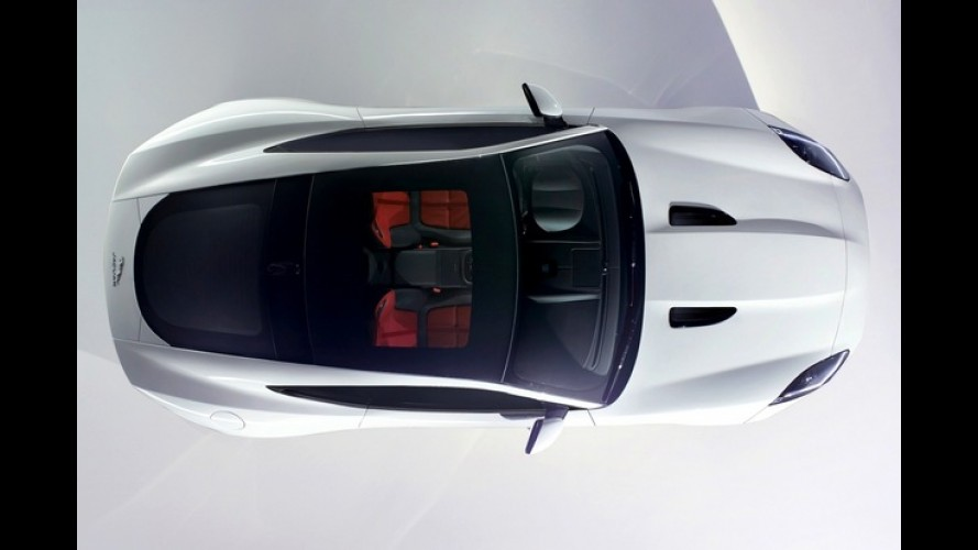 Jaguar mostra teaser do novo F-Type Coupe que estreia no Salão de Los Angeles