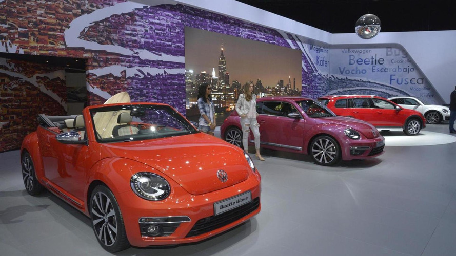 Volkswagen unveils four Beetle concepts for New York