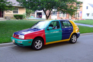 Golf Harlequin: The Clown Car You'd Be Lucky to Own