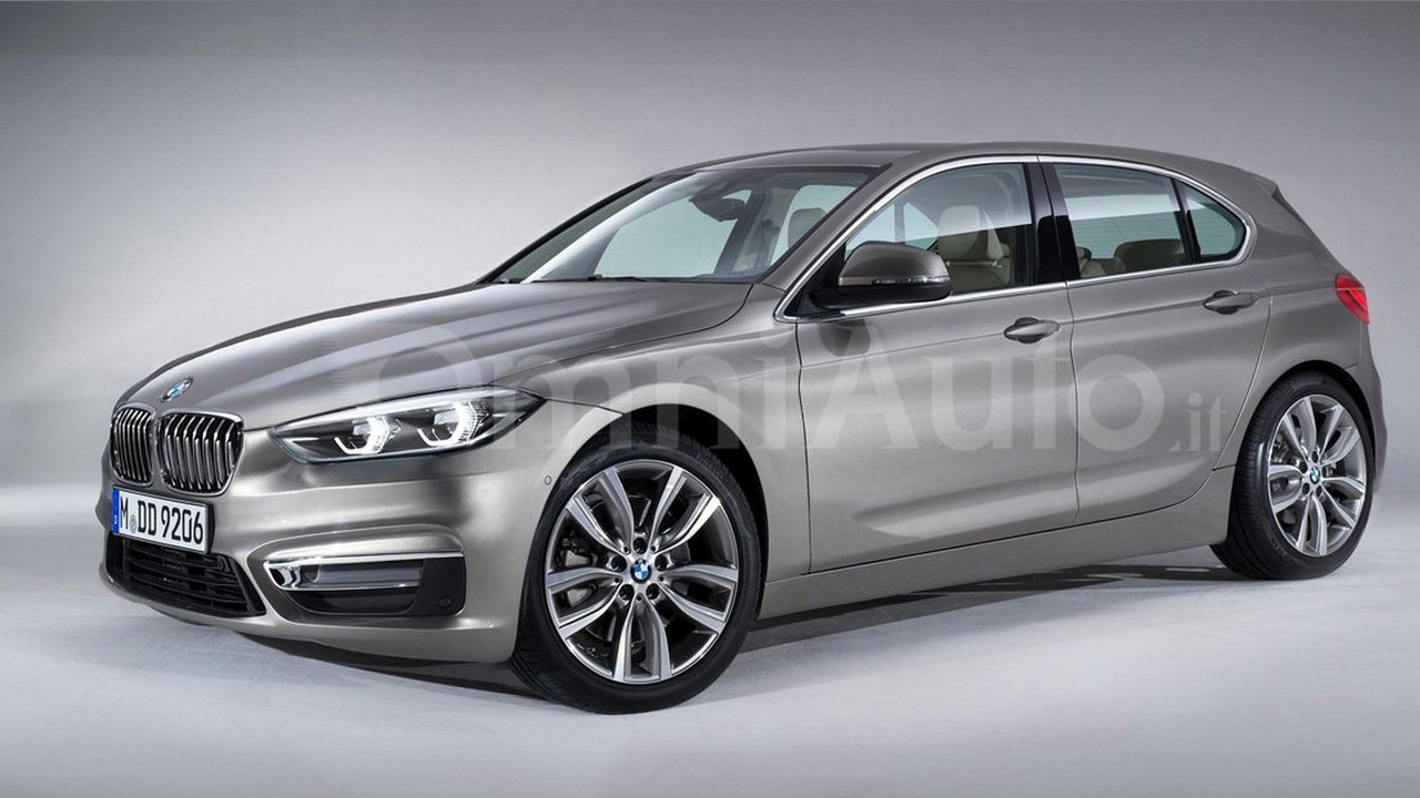 Next-generation BMW 1 Series render
