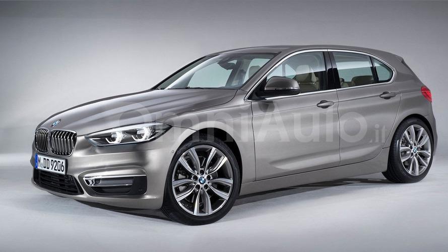 Next-generation BMW 1 Series speculatively rendered