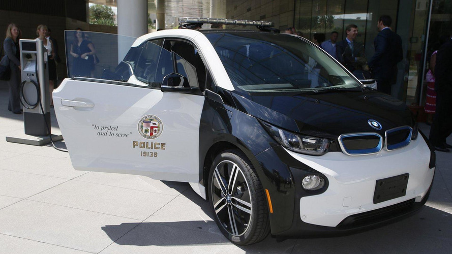 BMW i3 Police Car unveiled in Los Angeles