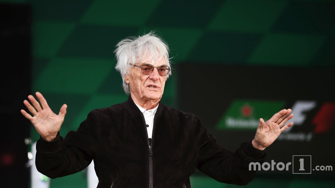 Bernie Ecclestone, at a Heineken sponsorship announcement