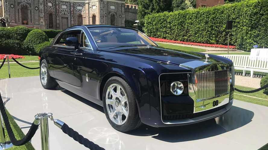 Rolls-Royce, Sweptail'in üretilen en pahalı yeni otomobil olduğunu söyledi