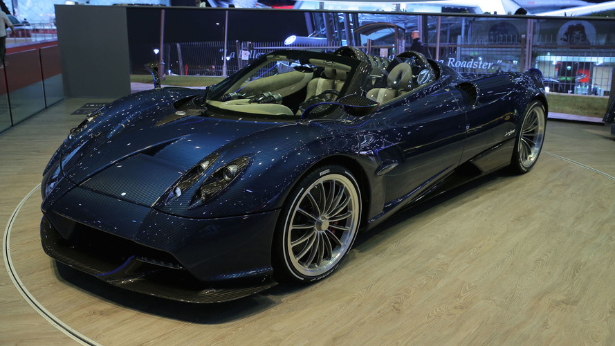 Pagani Huayra Roadster is the 752-hp droptop hypercar of your dreams