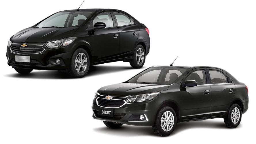 Chevrolet sobe preços de Onix, Prisma, Cobalt e Spin