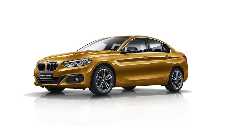 New BMW 1 Series Saloon goes on sale in China