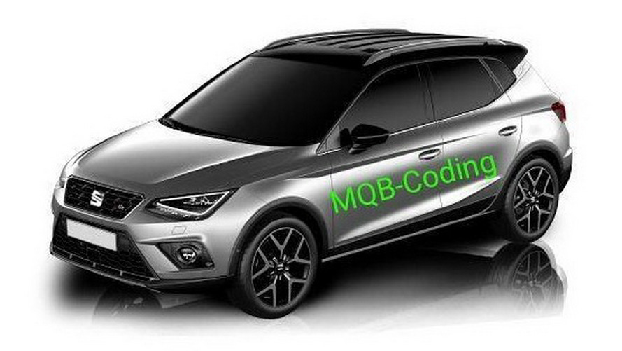2018 SEAT Arona Leak Reveals The Ibiza Crossover