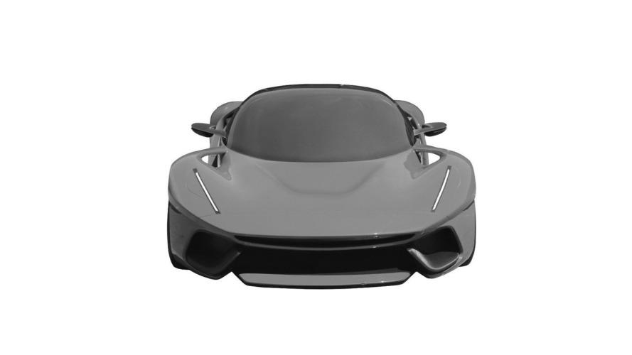 Unknown Ferrari patent images