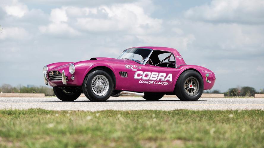 Nadir Shelby Cobra 'Dragonsnake' açık arttırmaya çıkacak