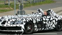 SLR Speedster Spy Shot on the Ring