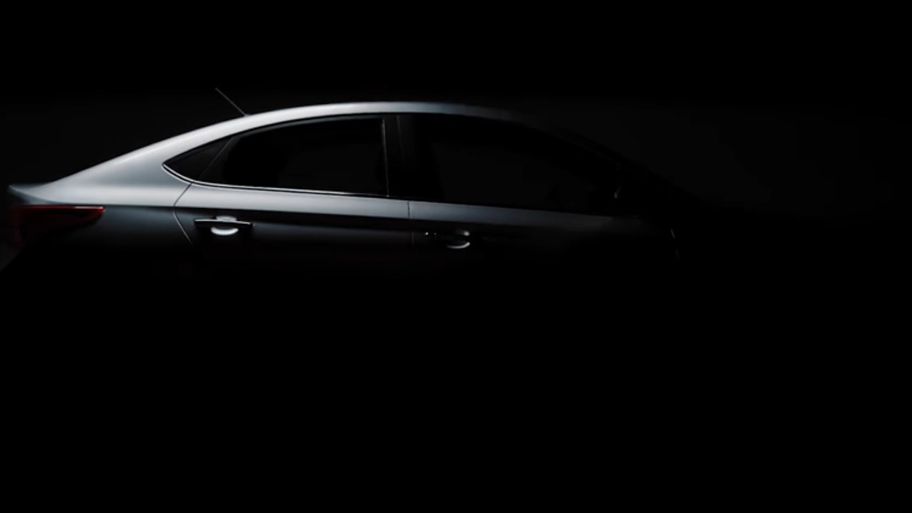 2018 Hyundai Accent Preview >> 2018 Hyundai Accent teased ahead of next week's Canadian debut