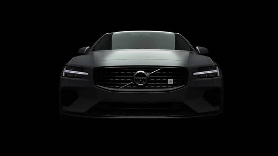 2019 Volvo S60 teaser'ı en dolu donanımı bizlere gösteriyor