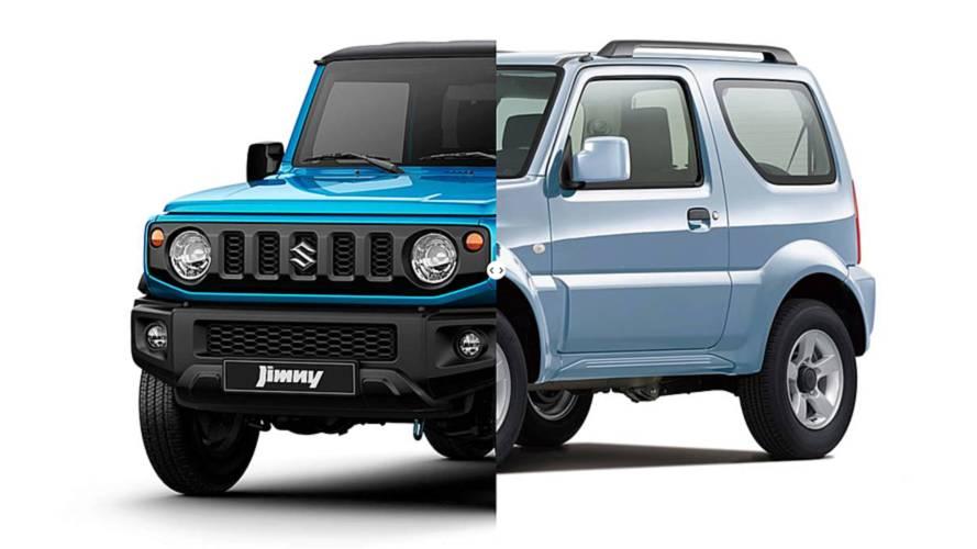 Novo Suzuki Jimny: veja tudo o que mudou