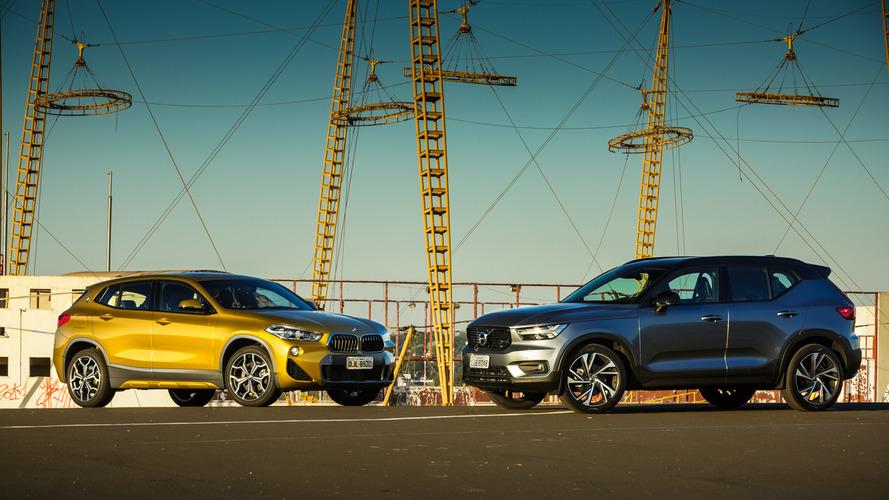 Comparativo BMW X2 x Volvo XC40: Pensando fora da caixa