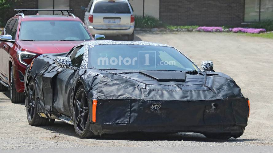 2020 Mid-Engined Chevy Corvette Spy Photos