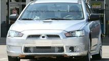 High-Performance Mitsubishi Lancer Spied