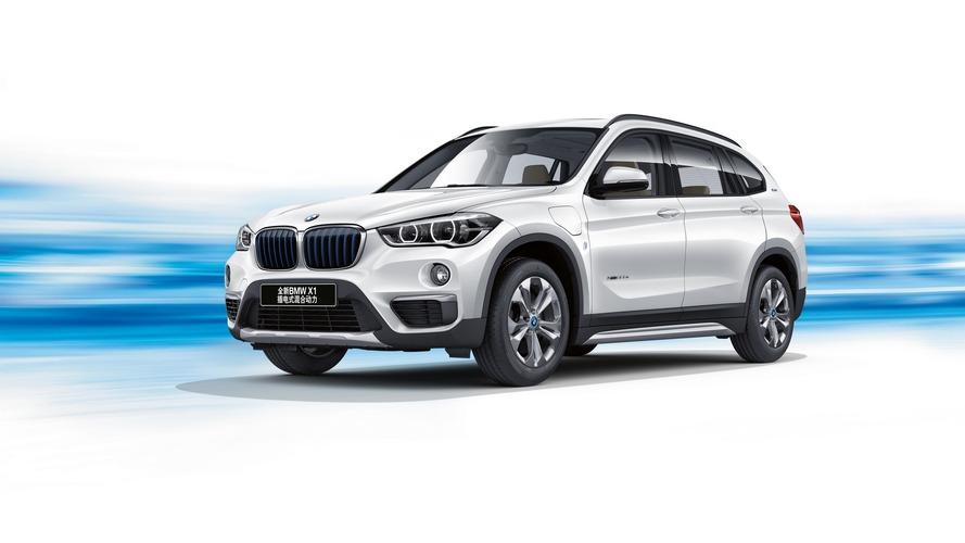 Sadece Çin için üretilen BMW X1 plug-in hibrit tanıtıldı