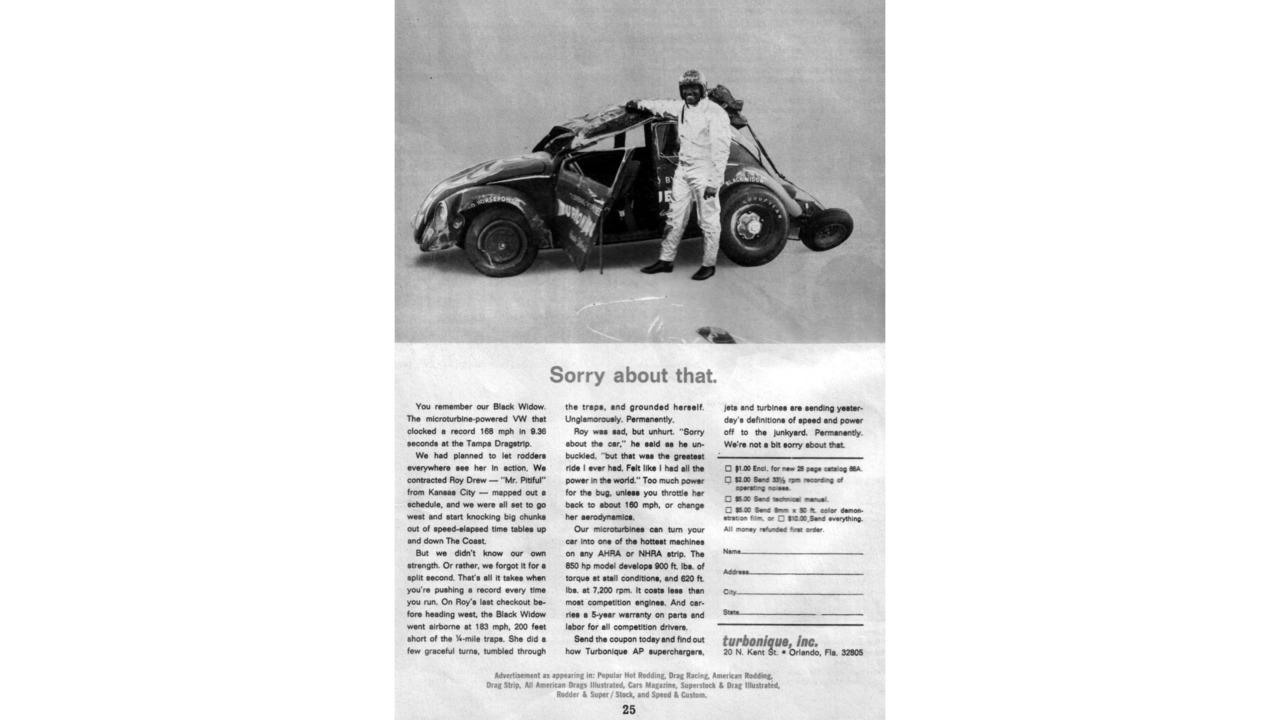 Volkswagen Beetle The Black Widow