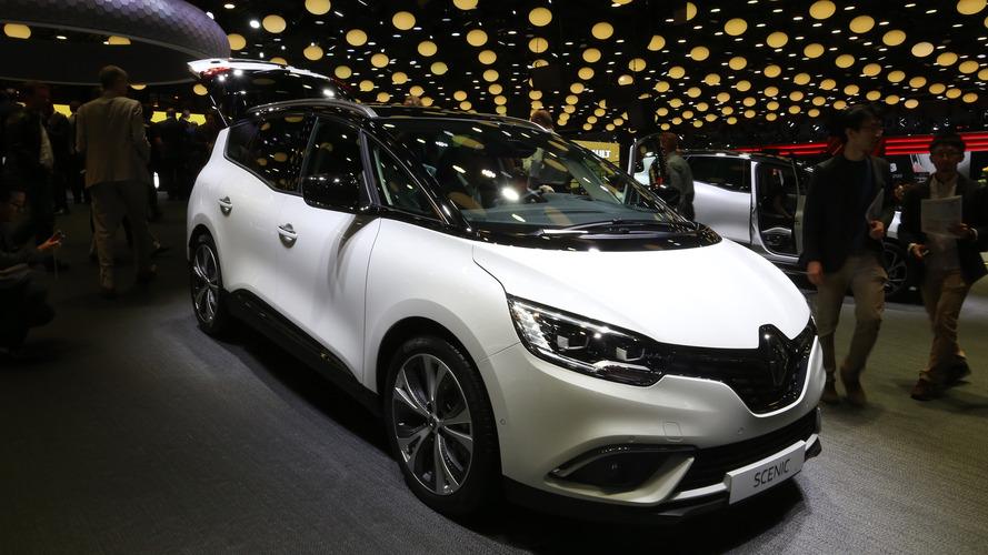 Le Renault Scenic Edition One se montre au Mondial de Paris