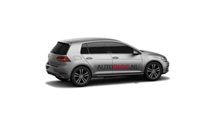 Makyajlı VW Golf 7 sızdırılmış fotoğraflar
