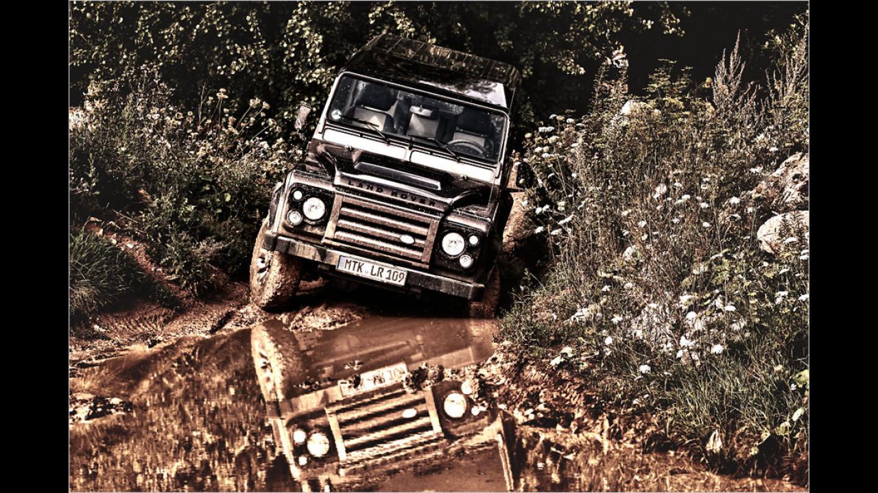 Land Rover Defender Rough