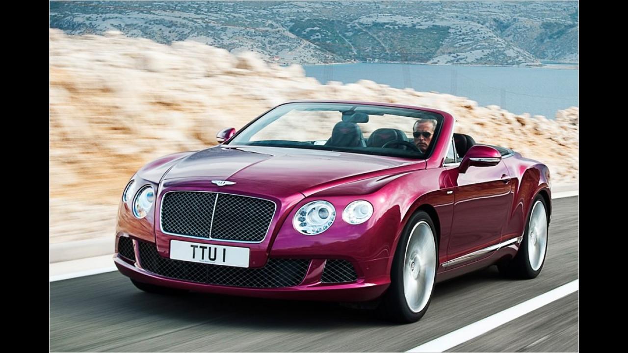 Bentley Continental GT Speed Cabrio