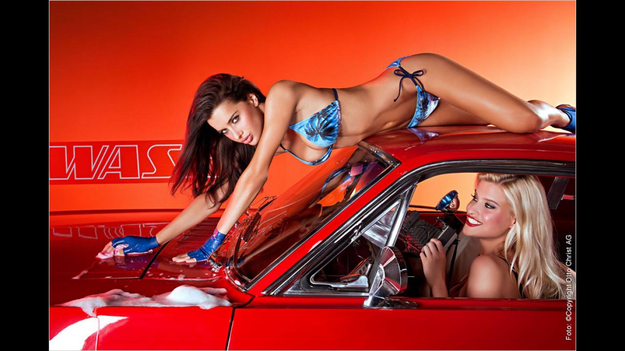Das Wichtigste ist, dass das Auto wieder in Hochglanz erstrahlt – ganz egal, wie viel Anstrengung das mit sich bringt