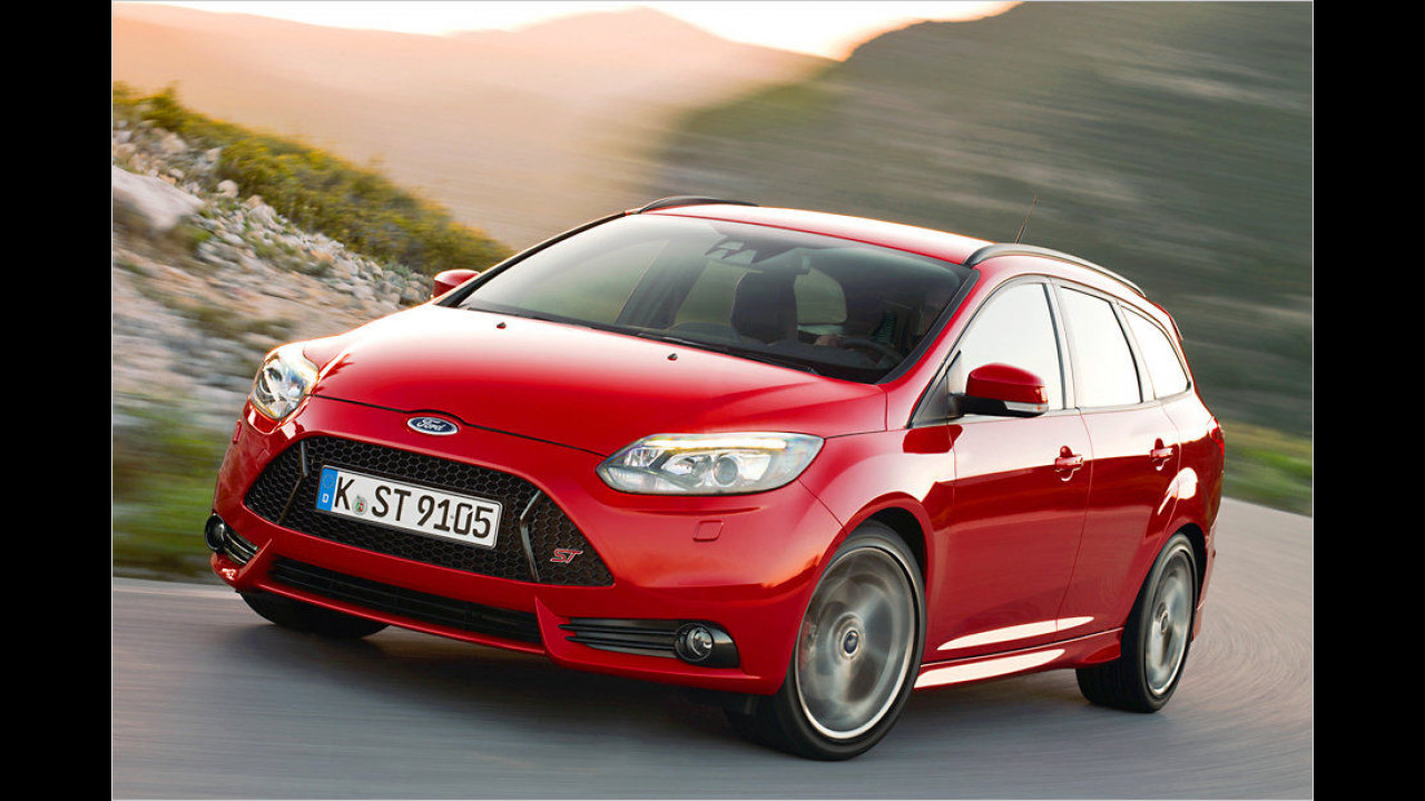 Ford Focus ST Turnier: 250 PS
