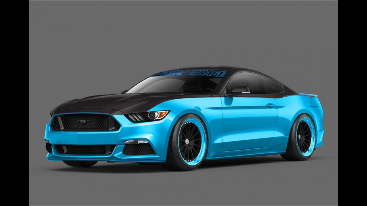 Petty's Garage: Ford Mustang GT