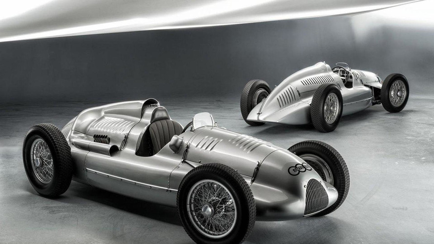 Last Auto Union Type D recovered by Audi