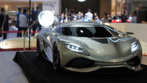 Koenigsegg Utagera concept designed by 15-year-old on display in Thailand