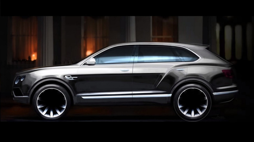 Bentley Bentayga road to production detailed [video]
