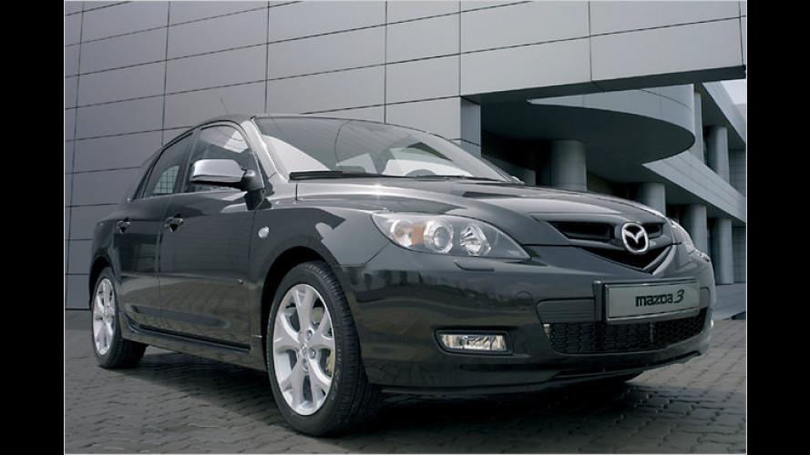 Neue Mazda3-Sondermodelle mit zusätzlichen Extras
