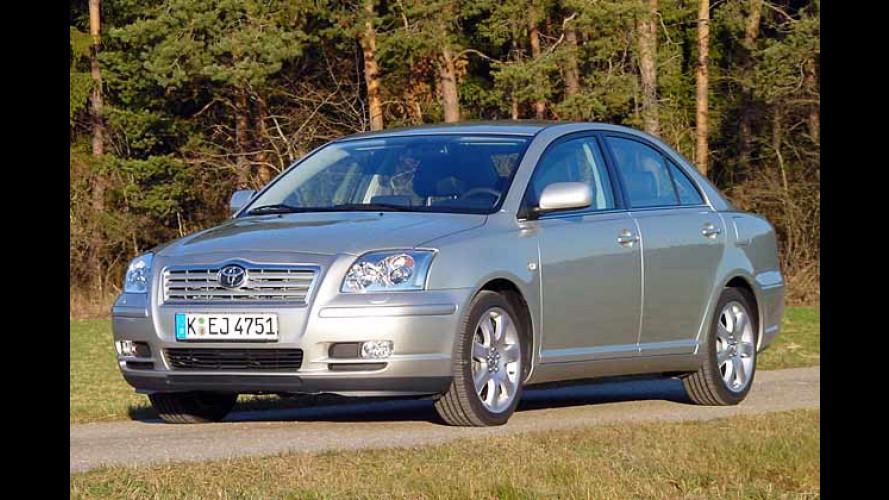 Toyota: Neue starke Motoren für den Avensis